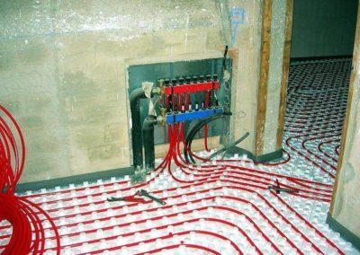 Sistema de calentamiento para suelos