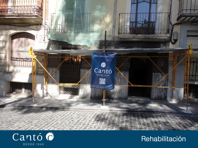 rehabilitacion de fachada edificio en alcoy 1