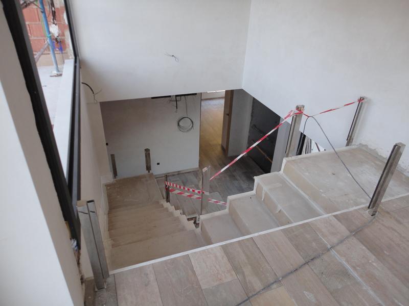 Escaleras montada en Peresejo