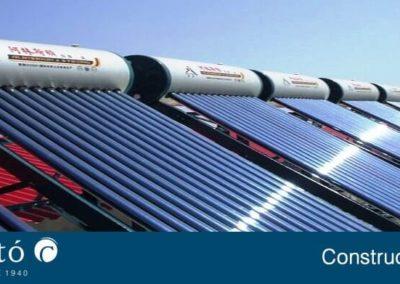 Foto de paneles solares