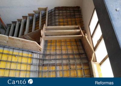 escaleras aulas y aseos cruz roja